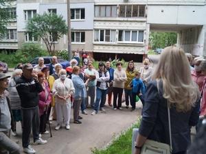 Экотропы и площадку для собак хотят видеть жители в лесном массиве в Щербинках-2