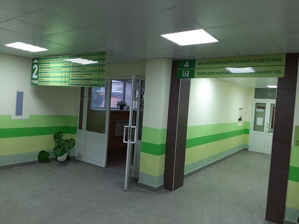 В нижегородской поликлинике больницы № 33 отремонтировали вход и зону приема пациентов - фото 3