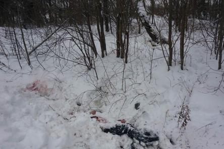 Следователи работают на месте двойного убийства в центре Нижнего Новгорода