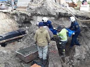 Рабочего в Дзержинске придавило грунтом