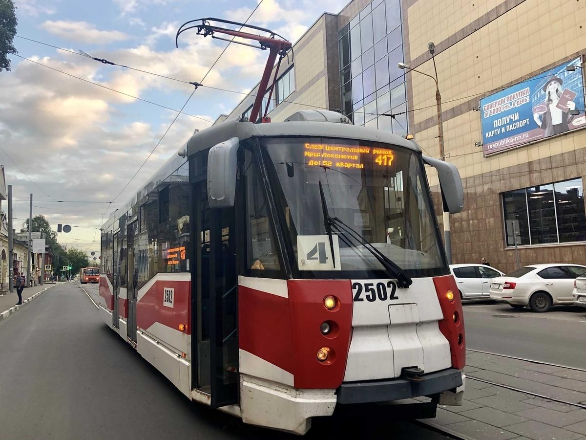Движение трамваев 417-го маршрута будет остановлено до утра 20 сентября - фото 1