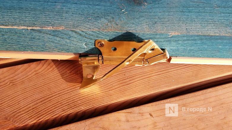 Деревянные дорожки и павильон на Гребном канале подверглись нападению неизвестных вандалов - фото 7
