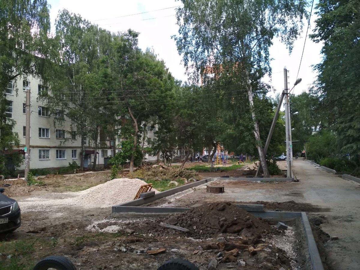 Благоустройство сквера «Канавинский» продлится до 1 сентября - фото 1