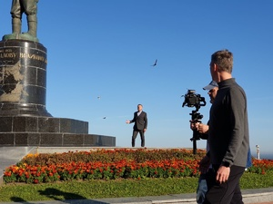 Леонид Парфенов начал снимать фильм про Нижний Новгород