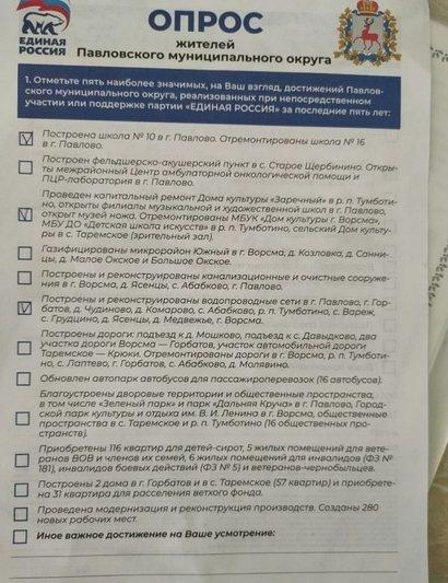 Павловчанам предложили оценить несуществующие дороги и водопровод - фото 1