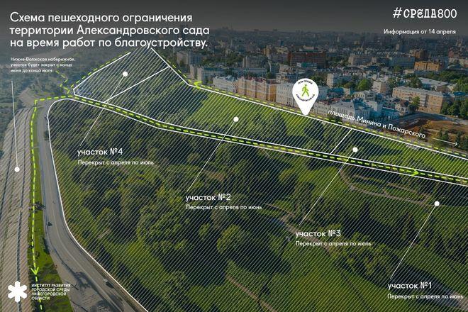 Разработаны схемы ограничений на время благоустройства территорий в Нижнем Новгороде - фото 7