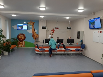 Завершился ремонт детской поликлиники №40 в Нижнем Новгороде