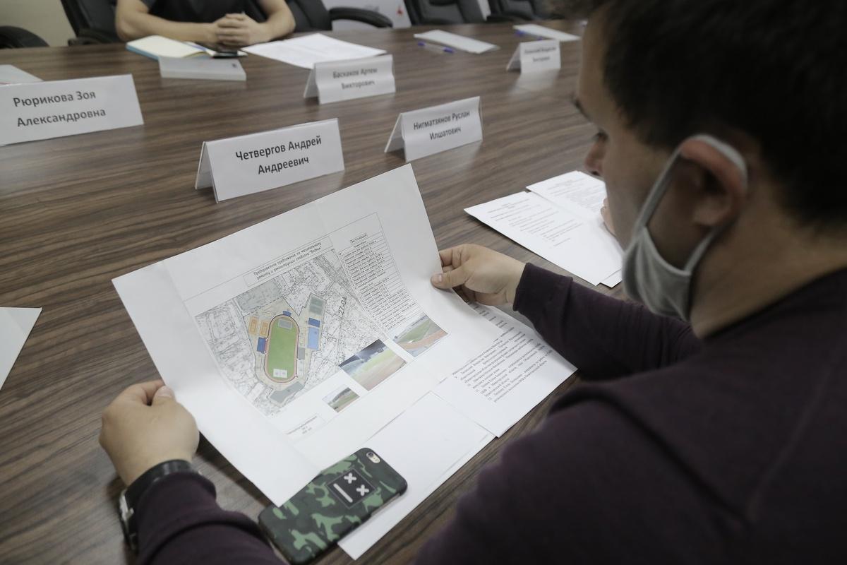 Благоустройство стадиона «Водник» обсудили в Нижнем Новгороде - фото 1