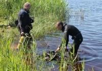 Водолазы очистят дно и берега озера на Сортировке