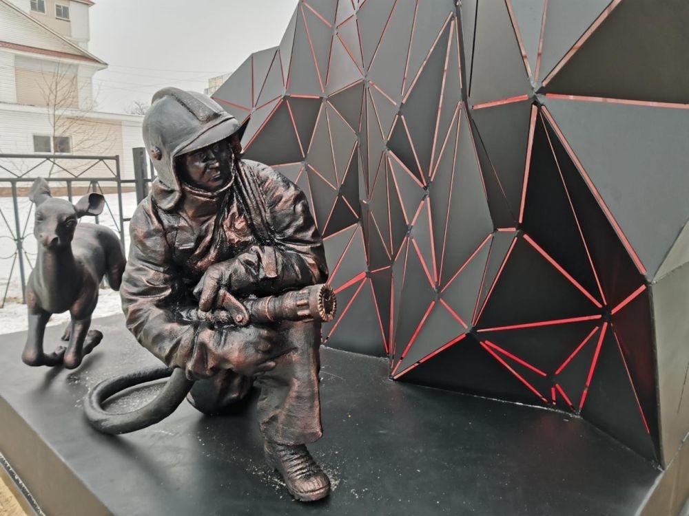 Памятник пожарным и спасателям в Выксе напечатали на 3D-принтере - фото 1