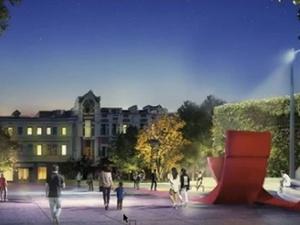 Скейт-парк и стена для скалолазания появятся у нижегородского стадиона «Динамо»