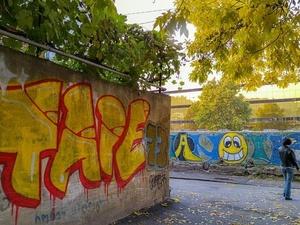 Молодежный парламент Дзержинска начал борьбу с рекламой наркотиков на стенах