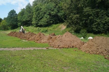 Динамовскую поляну начали благоустраивать на Щелоковском хуторе