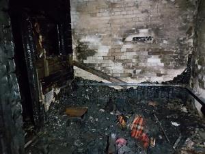 Уголовное дело возбуждено по факту гибели двух людей на пожаре в Володарском районе