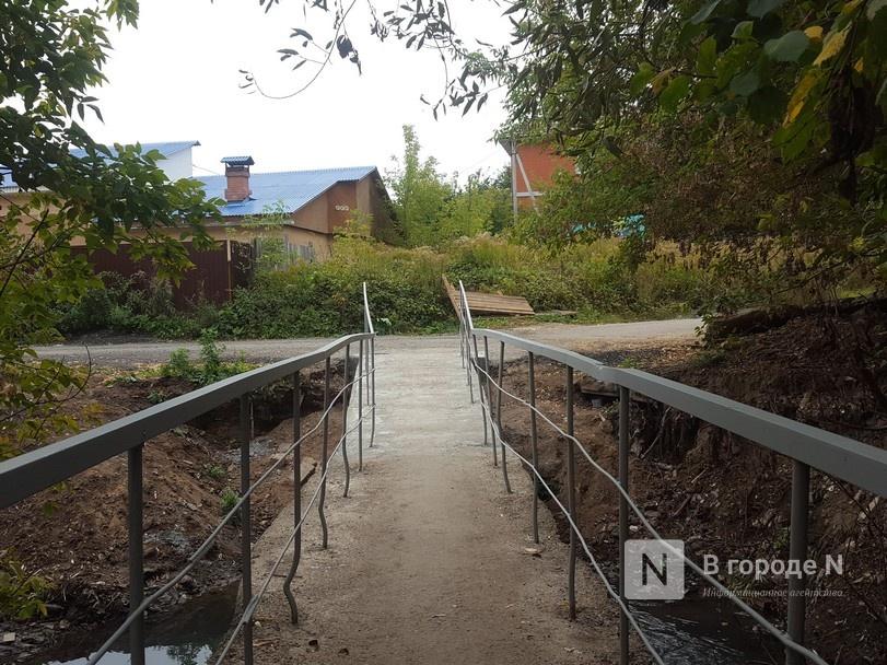 Сломанный весной мост через Старку ремонтируют в Советском районе - фото 1