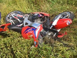 Мотоциклист разбился на трассе Нижний Новгород – Саратов