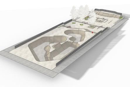 Скейт-парк площадью 1,7 тысяч кв. метров начали устанавливать в «Швейцарии»