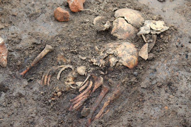 Новые находки на старом кладбище: что обнаружили археологи в Нижегородском кремле - фото 25