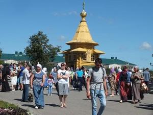 Около 4000 паломников приедут в Дивеево в начале августа