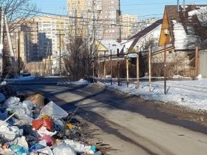Свалку на улице Красноводской убрали после вмешательства прокуратуры