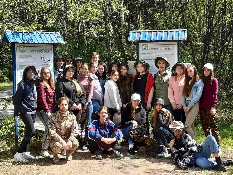 Студенты ФИЭСиС ННГАСУ и студенты НГСХА побывали в заповеднике «Керженский» - фото 1
