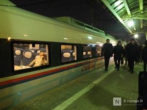 Количество перевезенных скоростными поездами пассажиров выросло на 14% в январе—октябре 2019 года