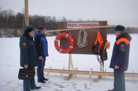 Ледовая переправа открылась в Пильнинском районе