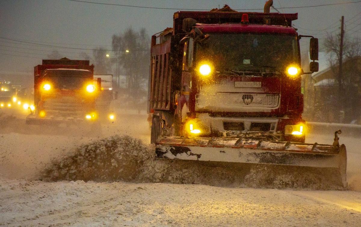 64 единицы техники чистят от снега трассы Нижегородской области - фото 1