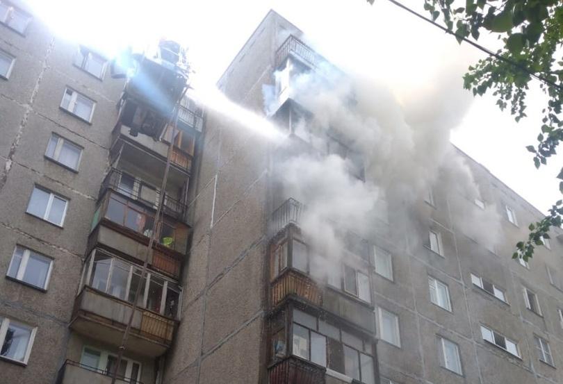 Пенсионеры пострадали в результате пожара в Нижегородском районе - фото 1