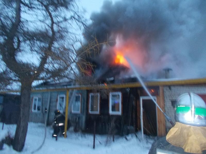 Тело человека обнаружили после пожара в доме в Канавинском районе  - фото 1