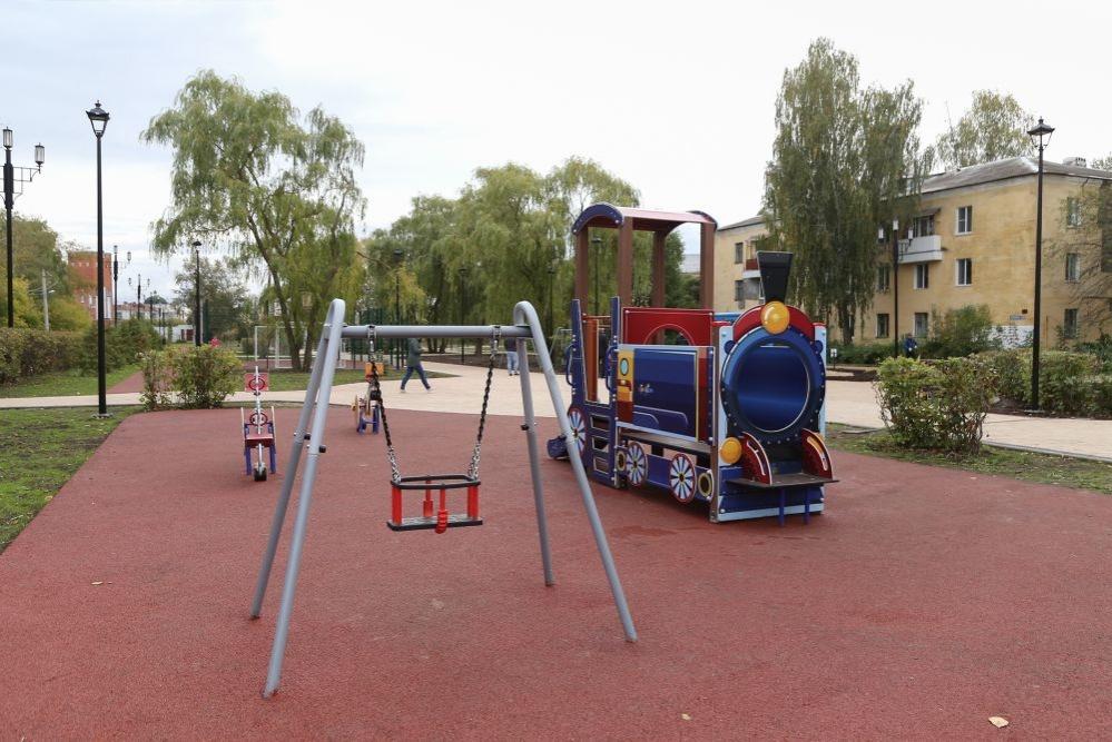 Ивовая аллея и детская площадка появились в нижегородском сквере «Мать и дитя» - фото 1