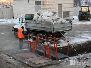 Строительству станции снеготаяния в Приокском районе помешал газопровод