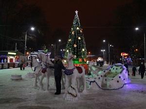 Главная елка Нижнего Новгорода откроется 26 декабря