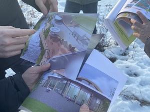 Работы по благоустройству парка «40 лет Победы» начались в Урене
