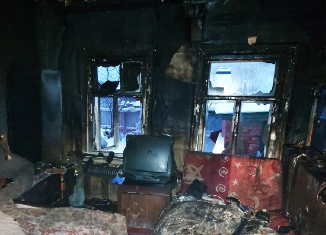 Пенсионерка погибла на пожаре в Ворсме - фото 1
