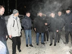 Владимир Панов остался недоволен уборкой снега в Нижегородском и Советском районах