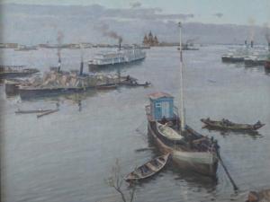Нижегородский художник Рудольф Соснин представит около ста новых произведений